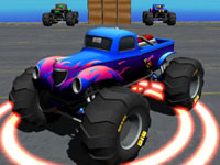 Jeu Monster Truck Port Stunt