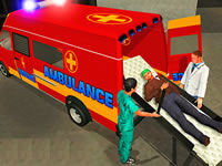 Jeu Ambulance Rescue Driver Simulator