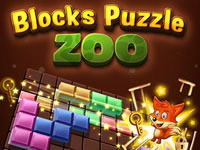 Jeu Blocks Puzzle Zoo