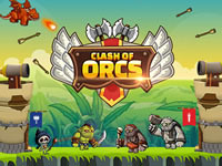 Jeu Clash of Orcs
