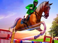 Jeu Horse Show Jump Simulator 3D