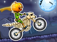 Jeu Moto X3M Spooky Land