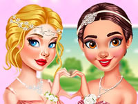 Jeu Princesses en demoiselles d'honneur