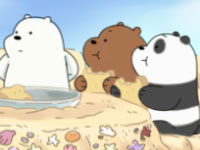 Jeu gratuit Sandcastle Battle! We Bare Bears