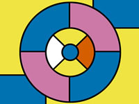 Jeu Four Color Theorem - Coloring Puzzle Game