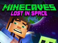 Jeu Minecaves Lost in Space