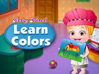 Jeu Bébé Hazel apprend les couleurs