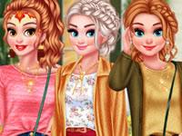 Jeu Princesses Fêtant l'Automne