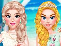 Jeu Princesses au mariage d'une amie