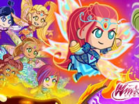 Jeu Winx - Bloomix Battle