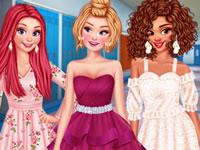 Jeu Princesses rencarts d'école