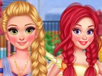 Jeu gratuit Princesses Costumées en groupe