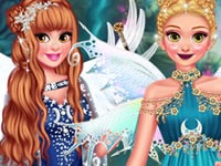 Jeu gratuit Princesses Bal de Forêt