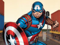 Jeu Shield Strike - Captain America