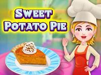 Jeu Recette de tarte à la patate douce