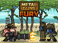 Jeu Metal Guns Fury - Beat Em Up