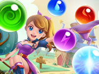 Jeu Bubble Witch Shooter - Magical Saga