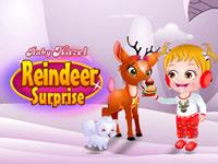 Jeu Bébé Hazel et la surprise du renne