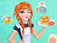 Jeu Anna et le petit déjeuner