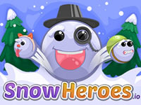 Jeu gratuit SnowHeroes.io