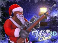 Jeu Winter Clash 3D