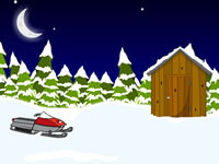 Jeu Snowy Cabin Escape