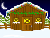 Jeu Snowy Village Escape