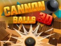 Jeu gratuit Cannon Balls 3D