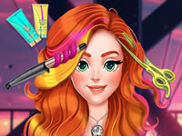 Jeu gratuit Jessie New Year #Glam Hairstyles