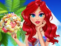 Jeu Ariel et son mariage Néon