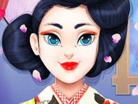 Jeu Geisha Routine Peau