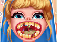 Jeu Cendrillon va chez le dentiste