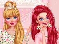 Jeu Soirée Cocktail avec des princesses