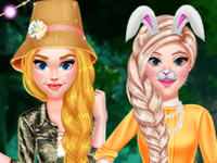 Jeu gratuit Princess Girls Safari Trip