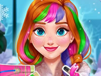 Jeu Annie change de coiffure