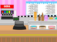 Jeu Ice Cream Parlor Escape