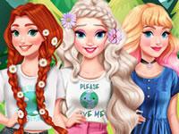 Jeu Princesses sauvant la planète