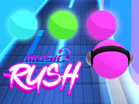 Jeu Music Rush