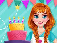 Jeu Anna et le gâteau