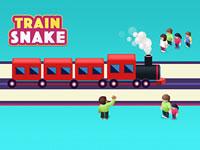 Jeu Train Snake