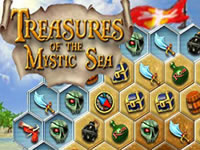 Jeu The Treasures of the Mystic Sea