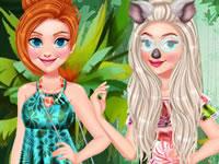 Jeu Princesses en Amazonie