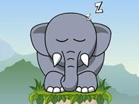 Jeu Snoring Elephant Puzzle