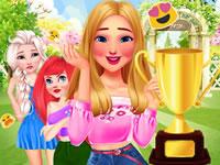 Jeu Princesses Concours de Jardinage