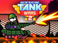 Jeu Stick Tank Wars 2