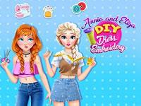 Jeu Annie et Eliza DIY Robes
