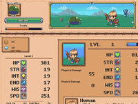 Jeu Idle Grindia - Dungeon Quest