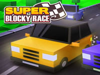 Jeu Super Blocky Race