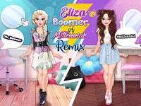 Jeu Eliza Boomer vs Millennial