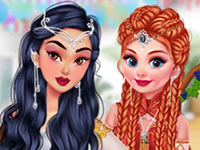 Jeu Princesses et Guerrières